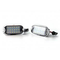 Packen Sie 2 Module LED-Beleuchtungstüren VW - Golf 3/4 / BORA / BEETLE / SHARAN / TOURAN