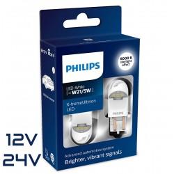2x W21/5W LED GEN2 X-TREM ULTINON WHITE 12/24V
