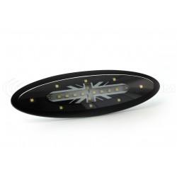 Deckenleuchte Full LED - Schwarzer Union Jack - Mini R56 von 2006
