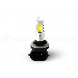 2 x Ampoules 881 H27/2 LED SMD 5 LED COB