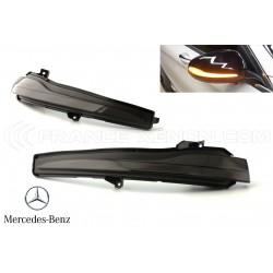 Répétiteurs Rétro LED Dynamique Défilant Mercedes Classe C W205, S W222, S C217, E W213, GLC X253