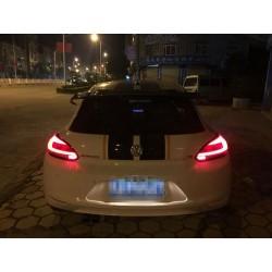 Feux arrière Dynamiques LED VW Scirocco Type Facelift