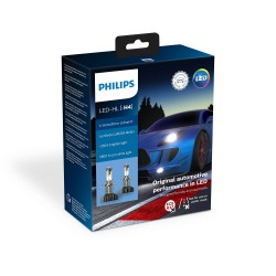2X LAMPADINE H4 LED PHILIPS X-TREME ULTINON GEN2 5800K +250%
