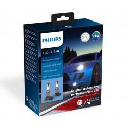 2X AMPOULES H4 LED PHILIPS X-TREME ULTINON GEN2 5800K +250%