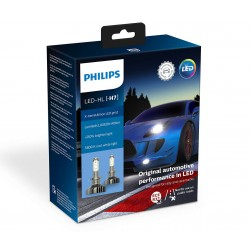 2x H7 LED PHILIPS X-Treme Ultinon GEN2 5800K +250%