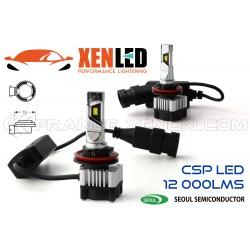 2x LED H11 Xtrem6 - Side FAN - 60W - 12 000Lms - 6000K