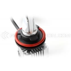 2x LED H11 Xtrem6 - Ventilateur déporté - 60W - 12 000Lms - 6000K