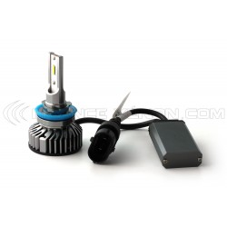 H11 LED belüftet FF2 - 5000Lms - 6000 ° K - Minigröße