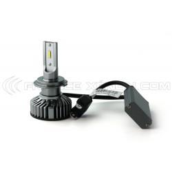 H7 LED Ventilated FF2 - 5000Lms - 6000 ° K - Mini Size