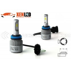 2 x Bulbs H11 LED HeadLight 75W - 6500K