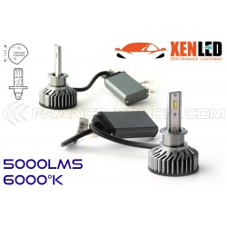 H1 LED ventilato FF2 - 5000Lms - 6000 ° K - Mini Size
