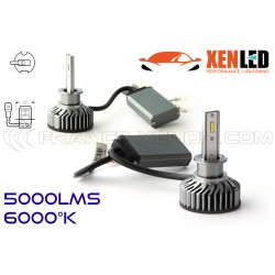 H3 LED Ventilated FF2 - 5000Lms - 6000 ° K - Mini Size