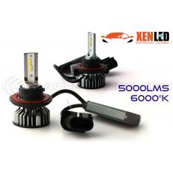 Kit AMPOULES H13 bi-LED Ventilées FF2 - 5000 6000Lms