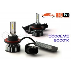 H13 bi-LED Ventilated FF2 - 5000/6000Lms - 6000 ° K - Mini Size