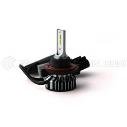 H13  bi-LED ventilato FF2 - 5000/6000Lms - 6000 ° K - Mini Size
