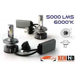 H4 bi-LED Ventilated FF2 - 5000/6000Lms - 6000 ° K - Mini Size