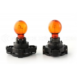 2 x Glühlampen PY24W orange 24W 12V