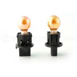 2 x Glühlampen PWY24W Chrome Amber 24W 12V
