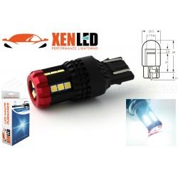 1x W21/5W LED 12/60V CAPTAIN Hybrid - 700lms - 7443