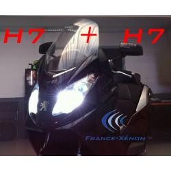 Pack xénon H7 +H7 4300K - moto