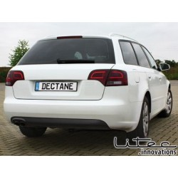 LED taillights Audi A4 Avant B7 04-08_red/smoke