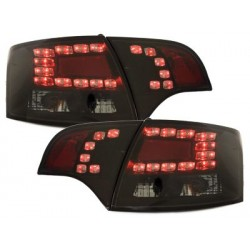 LED taillights Audi A4 Avant B7 04-08_black/smoke
