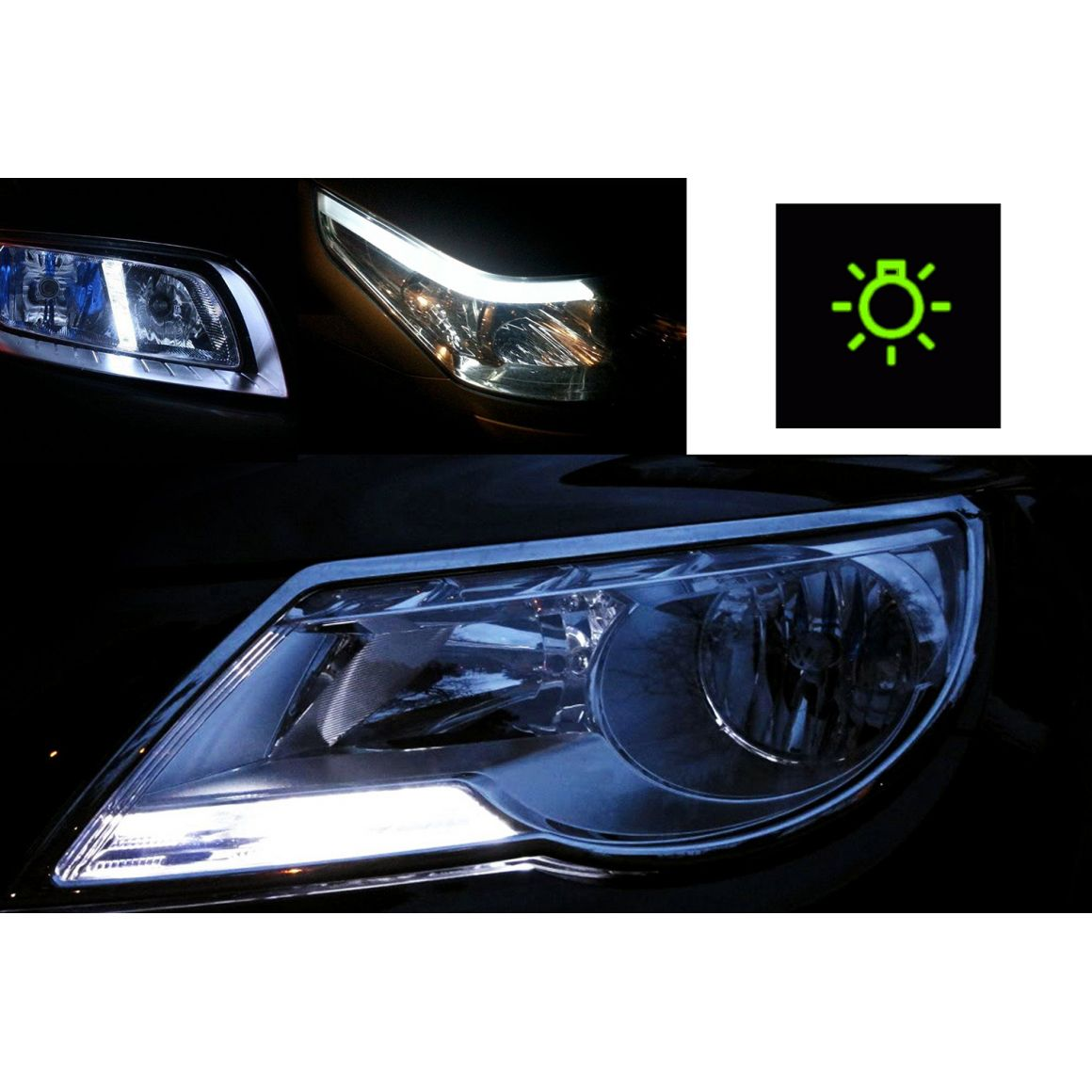 Pack Ampoules Led Veilleuses Pour Hyundai Coupe Gk