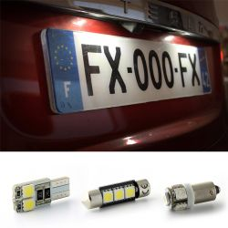 LED License plate Pack ( Xenon white ) for CUORE VI (L7_) - DAIHATSU