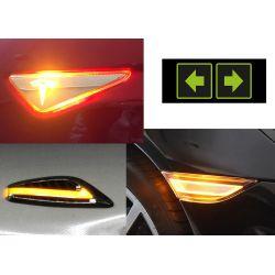 Indicatori di direzione laterale LED per Audi A6 C4
