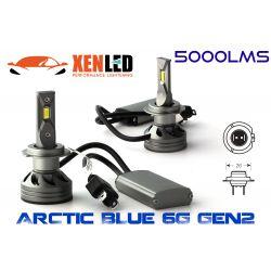 2 x Ampoules H7 6G GEN2 - 5000Lm - 6500K - 12 / 24 Vdc - 55W