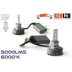 H1 LED Ventilated FF2 - 5000Lms - 6000 ° K - Mini Size