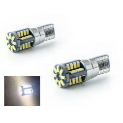 2 x LAMPADINE 40 LEDS 360° CANBUS - T10 W5W