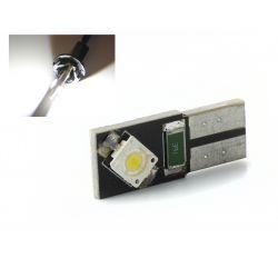AMPOULE 2 LEDS OSRAM CANBUS BLANC - T10 W5W