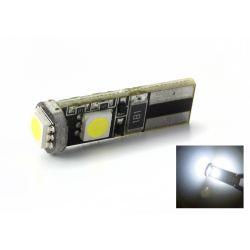 LAMPADINA 3 LEDS SMD CANBUS - T10 W5W