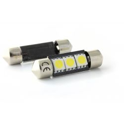 2 x bulbs C5W c7w - 3 anti-smd error - 37mm shuttle