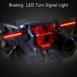 Clignotant + Feux STOP LED défilant Moto séquentielle NightX V3.0