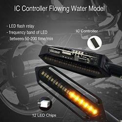 Flashing LED turning signal Moto sequential NightX V3.0