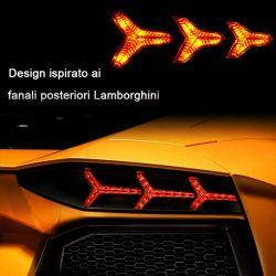 Clignotant LED défilant Moto Triple séquentielle LBP12LED