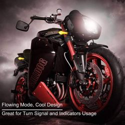 Flashing LED Scrolling Moto Arrow sequential LS12LED