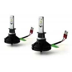 2 x H3 LED XT3 50W - 6000Lm - 12V/24V