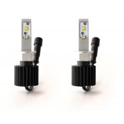 2 x Ampoules H3 ventilées C6 60W - 6000Lm - 6000K - 12 / 24 Vdc