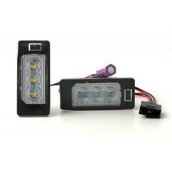 MODULO TARGA A LED AUDI A3 8P, A4 B7, Q7, A6 C6 (type A)- BIANCO 6000K
