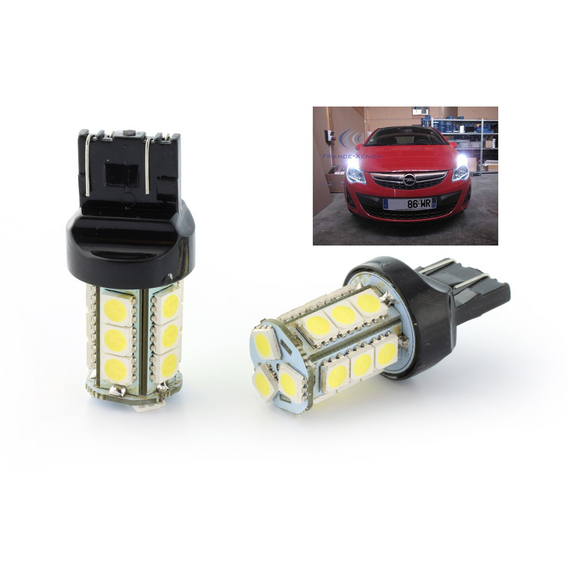 Pack KIT complet  led SMD blanc xenon pour seat ibiza