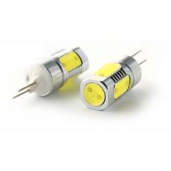 2x LED-Lampen 4 cob - hp24 - 6000k