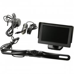 Caméra de recul Sans Fil CM35W - Waterproof - Moniteur intégré