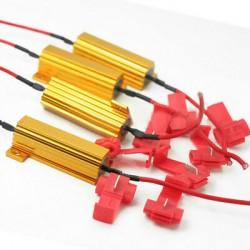 Widerstand für LED-Blinker + 2 Dominos