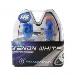 2 x H4 60/55W 6000K HOD Xtrem Bulbs - FRANCE-XENON)