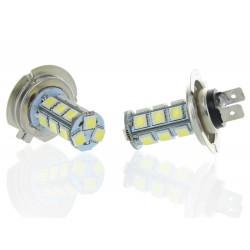 2 x Bulbs H7 24V - LED SMD 18 LED