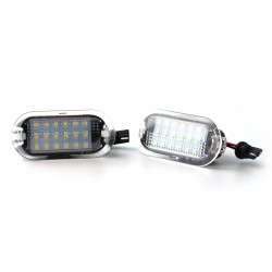 Pack 2 modules LED Eclairage Portes VW - Golf 3 / 4 / BORA / BEETLE / SHARAN / TOURAN