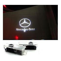 2x Logo Coming Home Intégré Mercedes Classe A, C, E, CLK, GLK, M